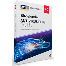 Bitdefender Antivirus Plus 2018 3 PC 1 Anno ESD