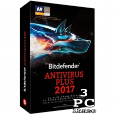 Bitdefender Antivirus Plus 2017 3 PC 1 Anno ESD