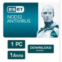ESET NOD32 Antivirus 1 PC 1 Anno ESD