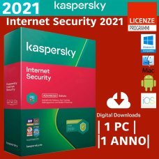 Kaspersky Internet Security 2021 1 MultiDevice Win Mac Android 1 Anno ESD immagine