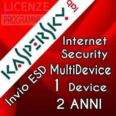 Kaspersky Internet Security 2019 1 Computer Windows o Mac 2 Anni