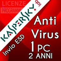 Kaspersky Anti Virus 2019 1 Computer Windows 2 Anni