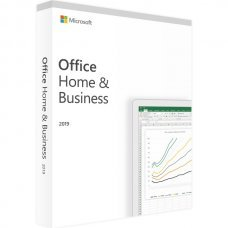 Microsoft Office 2019 Home and Business Windows Pack Box Completo Sped GLS