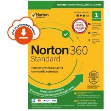 Norton 360 Standard 2020 1 PC Dispositivo 1 Anno iOs Mac Windows VPN ESD