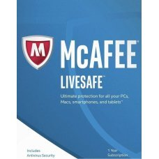 McAfee LiveSafe 2019 Device Illimitati 1 Anno Licenza ESD