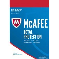 McAfee Total Protection 2019 Device Illimitati 1 Anno Licenza ESD immagine