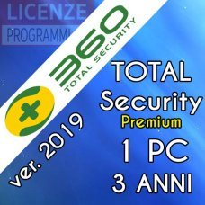 360 Total Security Premium 1 Computer Windows 3 Anni  ESD
