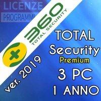 360 Total Security Premium 3 Computer Windows 1 Anno