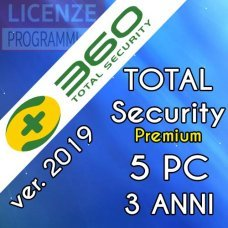 360 Total Security Premium 5 Computer Windows 3 Anni