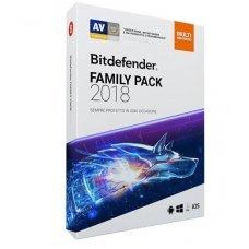 Bitdefender Family pack 2018 1 Anno ESD
