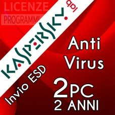 Kaspersky Anti Virus 2019 2 Computer Windows 2 Anni