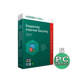 Kaspersky Internet security 2018 - 5 Computer o Mac - 2 anni