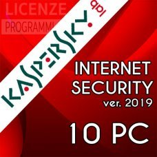 Kaspersky Internet Security 2019 10 Computer Windows o Mac 1 Anno