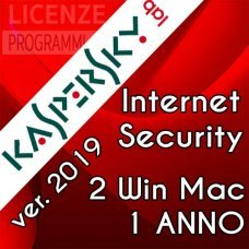 Kaspersky Internet Security 2019 2 Computer Windows o Mac 1 Anno immagine