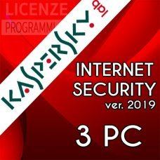 Kaspersky Internet Security 2019 3 Computer Windows o Mac 1 Anno