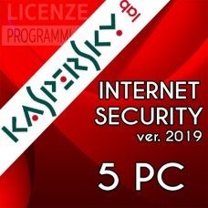 Kaspersky Internet Security 2019 5 Computer Windows o Mac 1 Anno
