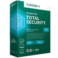 Kaspersky Total security 2018 - 3 Computer Windows o Mac - 2 Anni