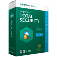 Kaspersky Total security 2018 - 3 Pc o Mac - 1 Anno