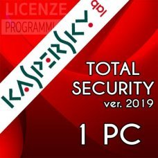 Kaspersky Total security 2019 - 1 computer Windows o Mac - 1 Anno immagine