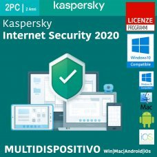 Kaspersky Internet Security 2020 2 Pc Device Win Mac Android 2 Anni ESD immagine