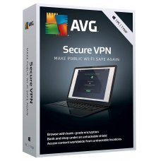 AVG Secure VPN 2019 - fino a 5 dispositivi 1 Anno ESD