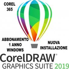 CorelDRAW Graphics Suite Abbonamento di 365 giorni IT per Windows